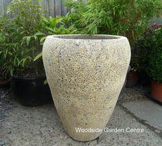 Atlantis Ocean Reclaim Tall Open Jar Pot Planter   Woodside Garden Centre   Pots to Inspire Large Planters, Planter Pots, Woodside Garden Centre, Earthenware, Atlantis, Garden Pots, Pottery, Jar, Ocean
