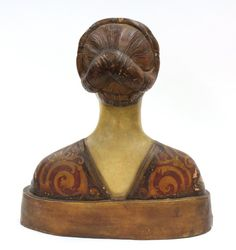 Florentine terra cotta bust of a lady, century, the polychrome decorated sculpture adorned in traditional attire. Renaissance Hairstyles, Historical Hairstyles, Renaissance Portraits, Renaissance Fashion, Italian Renaissance, 15th Century Fashion, 15th Century Clothing, 19th Century, Historical Costume