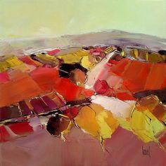 sélection de peintures représentatives House Landscape, Abstract Landscape, Abstract Art, Coups, Watercolor Flowers, Art Sketches, Pastel, Painting, Sculpture