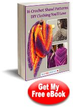 16 Crochet Shawl Patterns << There really are some nice simple patterns in this pdf for beginners. I just dowloaded it myself and its quite legit. Have fun!