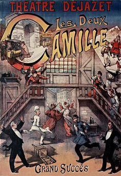 Affiche du Théâtre Déjazet , 41 bd du Temple - Paris 3