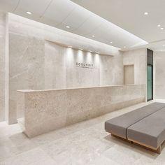 포트폴리오 Clinic Interior Design, Lobby Interior, Clinic Design, Interior Architecture, Hotel Lobby Design, Medical Office Decor, Dental Office Design, Lounge Design, Cabinet Medical