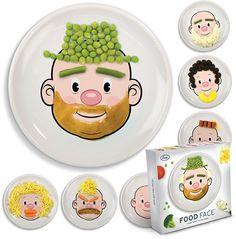 Leuker eten met Food Face borden