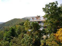Top View Of Art Of Living Ashram, Boone, NC