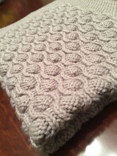 Reversible Cable Knit Afghan Pattern : Ravelry: Scarletts Reversible Cable Baby Blanket pattern by Suzanne Brya...