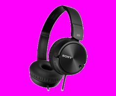 Sony Mdrzx110nc Noise Cancelling Headphones (Black)