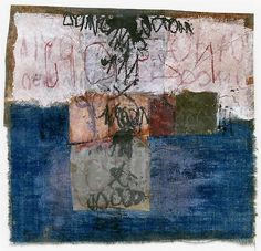 Hannalore Baron, Untitled, 1985 Collage x inches Collages, Collage Art, Bear Art, Letter Art, Textile Artists, Les Oeuvres, Painting & Drawing, Paper Art, Modern Art