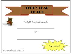 teddy bear picnic activities - Google Search