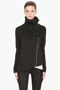 Black Soft Sweatshirt. HELMUT.  (Would it be so redundant to add this to my closet?)