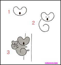 How to Draw Cute Animals | images of how to draw animals easy step by instructions on wallpaper