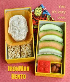 BentOnBetterLunches: IronMan Bento