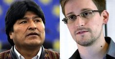 Bolivian President's plane diverted on flight from Russia over suspicions Snowden was on board