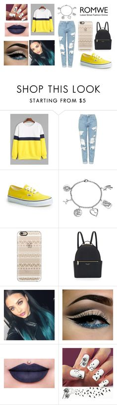 """Weekend Outfit"" by ryleedamnsartorius on Polyvore featuring Topshop, Vans, Love This Life, Casetify, Henri Bendel and Jeffree Star"