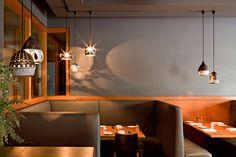 Wildwood restaurant, Portland. By Jessica Helgerson interior Design. Pendant: Heather Levine