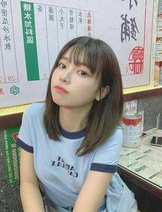 Korean Short Hair, Korean Girl, Beautiful Japanese Girl, Beautiful Asian Girls, Cute Asian Girls, Cute Girls, Japonese Girl, Shot Hair Styles, Uzzlang Girl