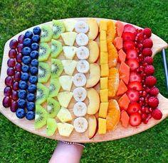 Botana de fruta