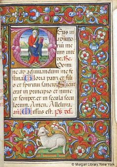 Book of Hours, M.256 fol. 213r - Book of Hours Italy, Lombardy, ca. 1475-1500 M.256 fol. 213r