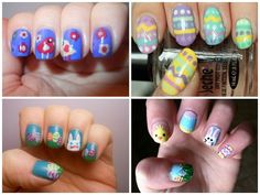 DIY Easter Nail Art - Find Fun Art Projects to Do at Home and Arts and Crafts Ideas