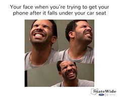 You know youve made that face at least once trying to get your phone.  #FunnyFriday