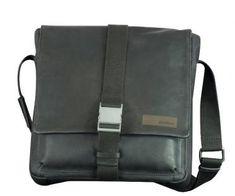 Umhängetasche Strellson ShoulderBag Goldhawk schwarz - Bags & more Messenger Bag, Shoulder Bag, Bags, Dime Bags, Leather, Black, Handbags, Lv Bags, Purses
