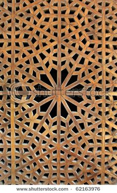 Photo about Beautiful Motif design of an old wooden lattice window in Iran. Image of iranian, islamic, latticework - 16311265 Motif Design, Tile Design, Design Elements, Pattern Design, Islamic Architecture, Art And Architecture, Natural Structures, Islamic Patterns, Stock Image