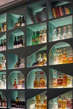 shop design B is for Bar, Bottle Shop and Bold Design Anthology Pub Design, Bar Interior Design, Design Salon, Restaurant Interior Design, Design Hotel, Wine Shop Interior, Back Bar Design, Pub Interior, Design Kitchen