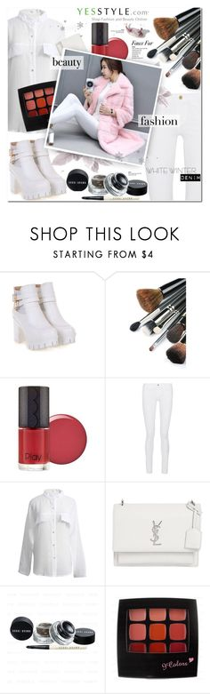 """""""YesStyle Polyvore Group """" Show us your YesStyle """""""" by cly88 ❤ liked on Polyvore featuring Frame and Yves Saint Laurent"""