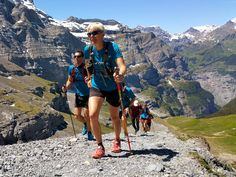 Pro Team Athlete Andrea Huser was leading our training camp for the Eiger Ultra Trail in Grindelwald. She helped the passionate runners to perfect their running technique to get ready for the big event in July.