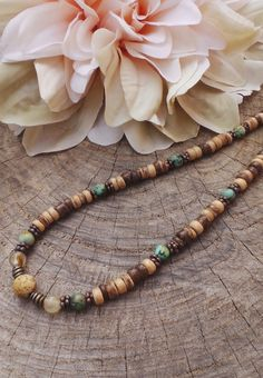 African turquoise, jasper and tourmaline. Mens Long Necklaces, Mens Beaded Necklaces, Men Necklace, Gemstone Necklace, Bracelets For Men, Fashion Necklace, Beaded Jewelry, Turquoise Necklace, Guy Jewelry