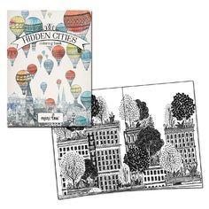 Hidden Cities Coloring Book