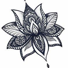 Nice Fleur De Lotus Mandala Collection - Coloring Page Ideas Cover Up Tattoos, Foot Tattoos, Body Art Tattoos, Tatoos, Mandala Tattoo Design, Flower Tattoo Designs, Flower Tattoos, Mandala Foot Tattoo, Lotus Mandala Design