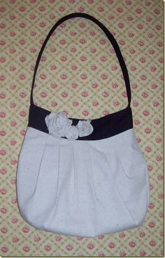 Drop cloth bag from Birdie Sling pattern with modified handle
