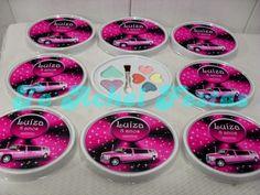 Limousine Rosa - Brindes e Lembrancinhas: Conjunto de Sombras Limousine Rosa