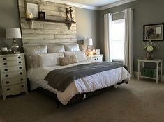 This is exactly how I want our bedroom