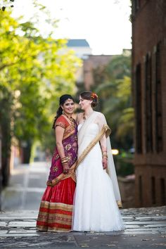 ShermanChuPhotography-AnaisEvents-K-S-portraits - 47 width= Lesbian Wedding Rings, Lesbian Wedding Photography, Lgbt, Indian Marriage, Cute Love Stories, Two Brides, Lesbians Kissing, Moroccan Wedding, Big Fat Indian Wedding
