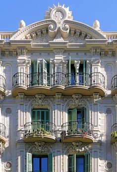 Cases Manuel Verdú Feliu  1904  Architect: Maurici Augé i Robert
