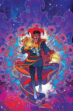 "league-of-extraordinarycomics: ""Doctor Strange by Christian Ward """