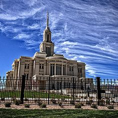 Featured Art - Payson Temple III  by David Simpson