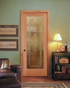 Cross Reed Decorative Glass Interior Door HomeStory French Glass