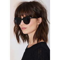 Komono Stella Shades (145 BRL) via Polyvore featuring accessories, eyewear, sunglasses, komono, fake sunglasses, thick glasses, komono sunglasses e lens glasses