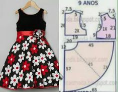 Best 11 Veja a publicação completa no site. Frock Patterns, Baby Girl Dress Patterns, Baby Clothes Patterns, Dress Sewing Patterns, Girls Dresses Sewing, Frocks For Girls, Dresses Kids Girl, Kids Outfits, African Dresses For Kids