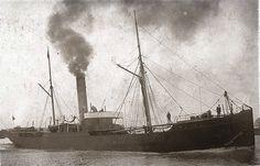 Steamer, Sailing Ships, Coasters, The Past, Boat, Painting, Boats, Shipwreck, Ruins