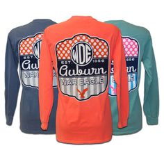 Longsleeve T-Shirt, Lollipop | Auburn University Bookstore
