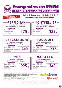 Escapadas Tren AVE a Perpignan, Montpellier, Carcassonne, Toulouse, Lyon o Marsella desde 175 euros ultimo minuto - http://zocotours.com/escapadas-tren-ave-a-perpignan-montpellier-carcassonne-toulouse-lyon-o-marsella-desde-175-euros-ultimo-minuto-2/