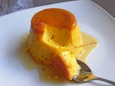 .....profumi e colori .....: Creme caramel al limone con .............. pentola a pressione