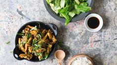 Turn lemongrass into a tasty marinade for any lean meat in this Nadia Lim favourite. Wine Recipes, Cooking Recipes, Healthy Recipes, Chicken Marinades, Chicken Recipes, Basil Chicken, Spring Green, Lemon Grass, Main Meals