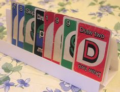 Assisitive Playing card Holder #papercraft #game #card_game