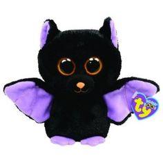 Ty Beanie Boos-Swoops the Bat! Beanie Babies, Ty Babies, Halloween Beanie Boos, Ty Beanie Boos Collection, Ty Boos, Ty Peluche, Boo And Buddy, Ty Stuffed Animals, Bat Animal