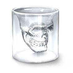 Cool Crystal Skull Head Shaped Shot Glass – EUR € 4.59 Moet ik nog bestellen dus :D