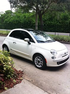 Obsessed with the Fiat 500, it's so beautiful ❤️